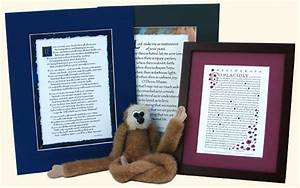 inspirational calligraphy wall art framed quotes poems With ink monkey press