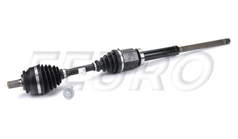 volvo axle assembly front passenger side auto trans new gkn 305665 fast shipping available