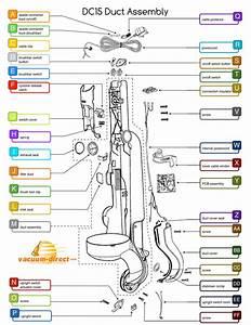 Dyson Dc15 Duct Assembly Parts Diagram