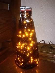 Flasche Mit Lichterkette : 17 ideen zu bierflaschen auf pinterest flasche und ~ Lizthompson.info Haus und Dekorationen