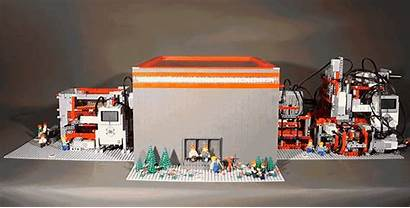 Lego Paper Factory Mindstorms Elaborate Makes Boxes