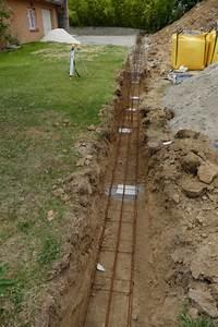 Fondation Mur Parpaing : dalle piscine et fondation mur de cl ture la maison de ~ Premium-room.com Idées de Décoration