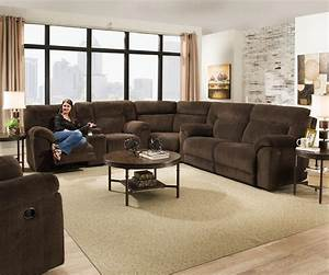 simmons upholstery 50570 casual reclining sectional sofa With simmons upholstery sectional sofa