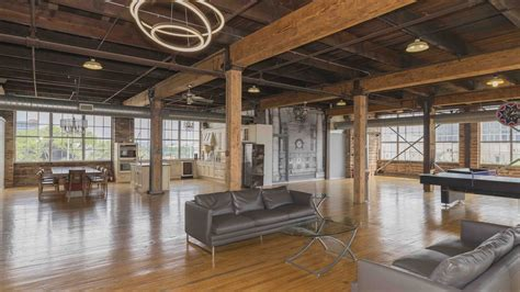 A Studio Loft Which Is A Home And Gallery by Corktown Loft Beautifully Renovated Now Asking