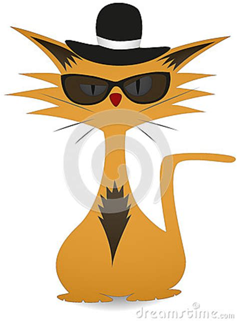 cool cat royalty  stock  image