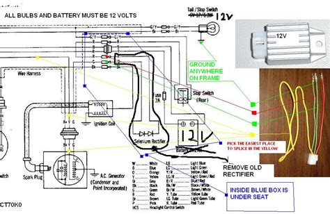 Honda Small Engine Voltage Regulator Wiring Diagram