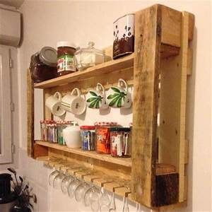 Inspiring wooden pallet kitchen ideas ideas with pallets for What kind of paint to use on kitchen cabinets for recycled wall art