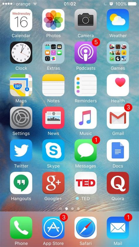 iphone home screen iphone 4 default home screen www imgkid the image