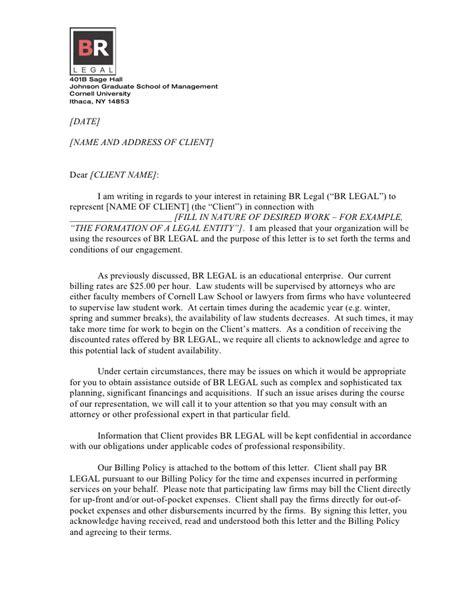 attorney engagement letter form client engagement letter doc 20522 | form client engagement letterdoc 1 728