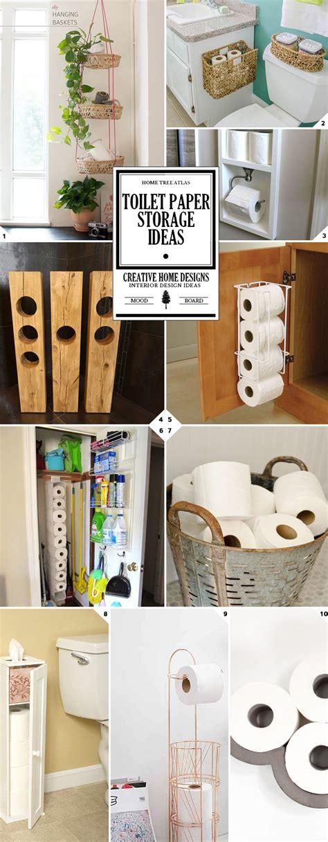 bathroom toilet paper storage ideas  styles home tree atlas