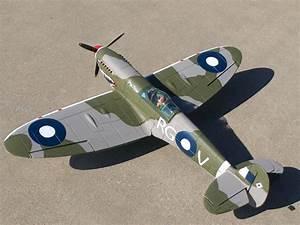 Dynam Spitfire 1200mm Electric Rc Airplane Plane Ready