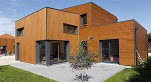 Maison En L Moderne : maison bbc lyon maison contemporaine bbc proche de lyon ocube architecture ~ Melissatoandfro.com Idées de Décoration