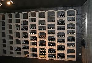 Casier à Bouteilles : casier bouteilles de vin pierre blanche 12 bouteilles ~ Teatrodelosmanantiales.com Idées de Décoration