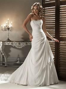 21 gorgeous a line wedding dresses ideas With a line dress wedding