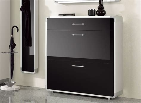 modern shoe cabinet indra contemporary shoe cabinet with 2 doors and a drawer