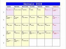 Calendario gennaio 2018 4 2019 2018 Calendar Printable