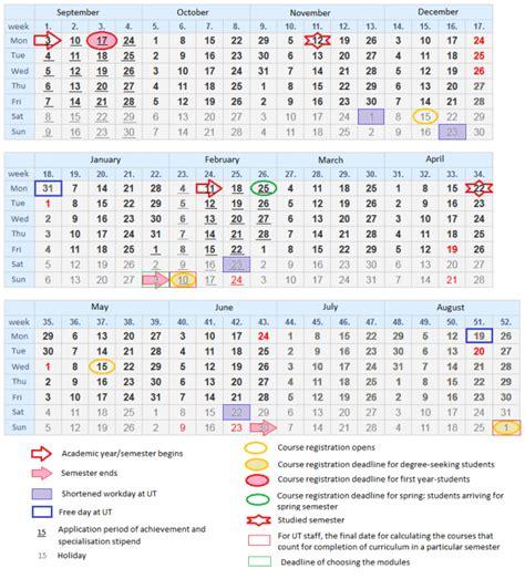 week kalender kalender