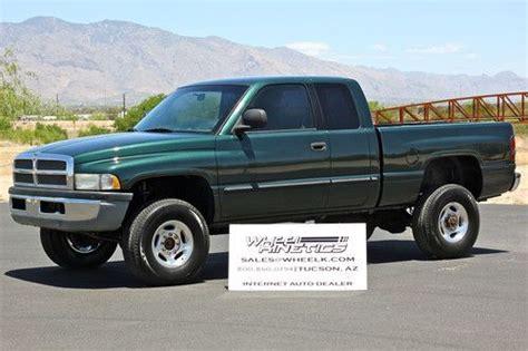 Find Used 2001 Dodge Ram 2500 Diesel 6 Speed Manual 4x4