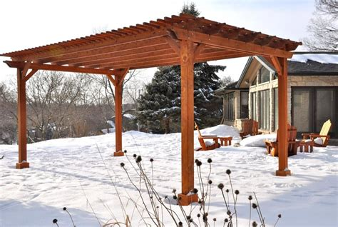 Einfache Pergola Bauen by Pergola Designs Upfront How To Build A Wood Pergola In A