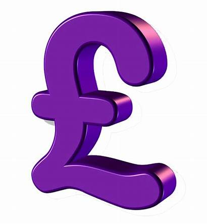 Purple Pound Sign Graphics Financial Transparent Supporting