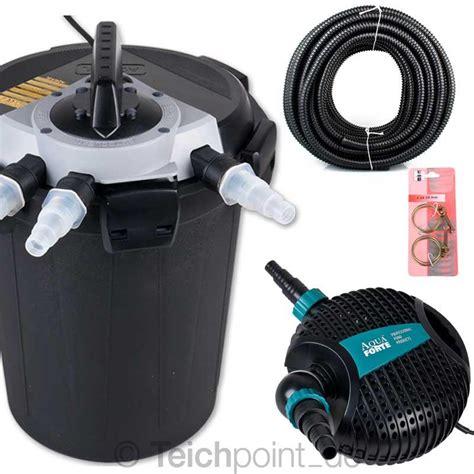 teichfilter komplett set inkl uvc klärer mit pumpe teichpumpe mit uv filter teichpumpe easyclear 4 in 1 mit pumpe filter uvc fontaned se
