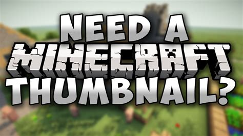 youtube minecraft lp thumbnail minecraft project