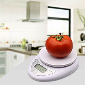 5000g/1g 5kg LED Electronic Food Scale Diet Kitchen Scale ...