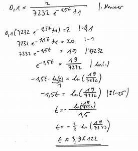 Schnittpunkt Berechnen Quadratische Funktion : logistisches logistisches wachstum schnittpunkt ohne gtr berechnen mathelounge ~ Themetempest.com Abrechnung