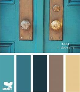 25 best ideas about teal colors on pinterest teal diy With palette de couleur turquoise 5 shades of blue and brown color palette ideas
