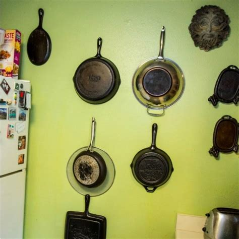 Hang L On Wall by Hanging Pots And Pans Thriftyfun
