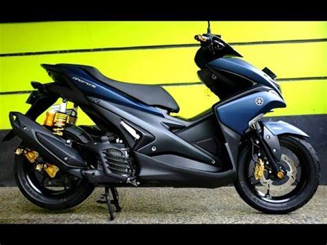 Modifikasi Yamaha Aerox 2017 by Modifikasi Aerox 155 Vva 2017