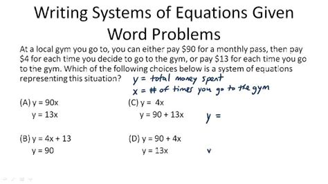 solving linear inequalities in word problems buy it now