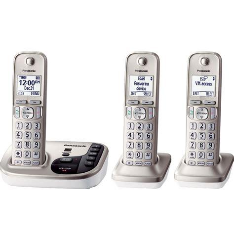 panasonic phone system panasonic kx tgd223n dect 6 0 plus expandable digital