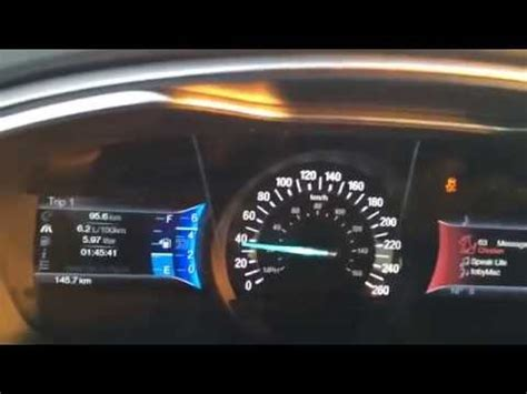 ford fusion manual  ecoboost   youtube