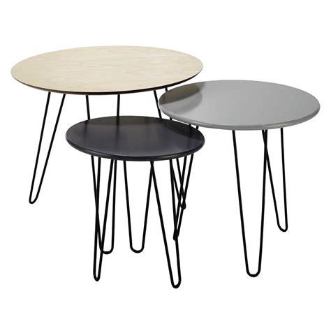 tables basses gigognes   cm   cm graphik maisons du monde