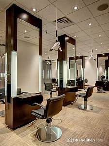 With interior hair salon lighting ideas