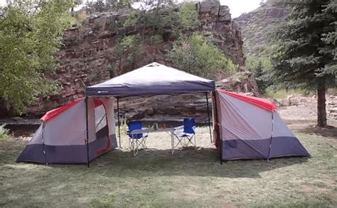 tent  attaches  canopy frames