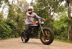Yamaha Xtz125 Tracker By Ape Customs  U2013 Bikebound