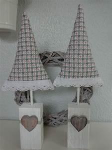 Paletten Deko Weihnachten : 2 tilda tannenb ume aus greengate stoff 42cm hoch shabby landhaus god jul ~ Buech-reservation.com Haus und Dekorationen