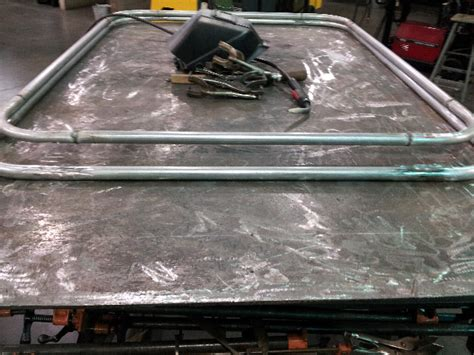 conduit roof rack emt conduit roof rack build jeep forum