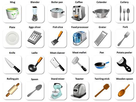 Kitchen Vocabulary by 89 Best Vocabulary Images On