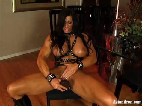 Aziani Iron Angela Salvagno Wearing Strap On Cock Free