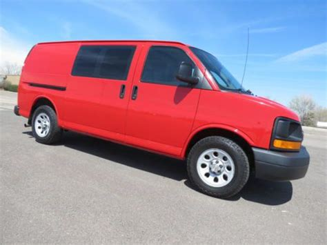 automobile air conditioning service 2009 chevrolet express 1500 transmission control find used 2009 chevrolet express 1500 v6 cargo van auto glass installation vehicle in red in