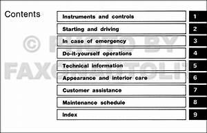 1994 Nissan Pickup Truck Owner U0026 39 S Manual Original D21 Model