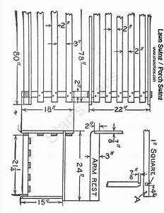 Diagram Of A Porch Swing