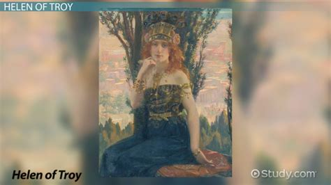 Helen of Troy: Story & History - Video & Lesson Transcript ...