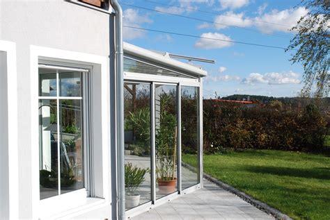 Terrassenüberdachung Mit Schiebeelemente by Terrassen 252 Berdachung In Wei 223 Mit Schiebeverglasung