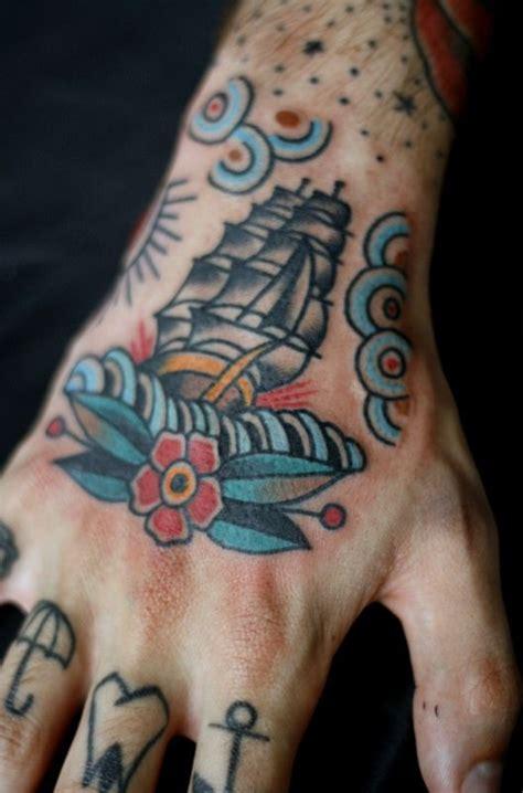 small ship tattoo  robert aalbers