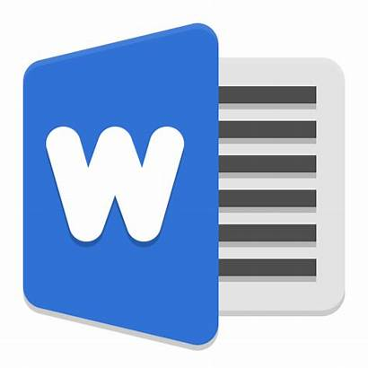 Word Icon Ms Icons Team Microsoft Apps