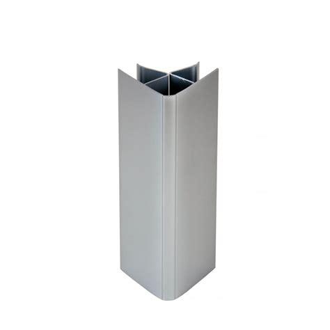 angle de plinthe de cuisine raccord universel plinthe 16 19x150mm gris alu x4 nordlinger chez mr bricolage